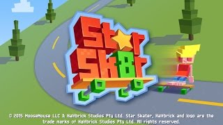 getlinkyoutube.com-Star Skater (by Halfbrick Studios) - iOS / Android - HD (Sneak Peek) Gameplay Trailer