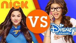 getlinkyoutube.com-Nickelodeon VS Disney Channel - Which is Better? | TMNT, The Thunder Man, Dino Charge & More!