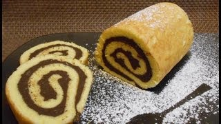getlinkyoutube.com-Ricetta rotolo, PAN BISCOTTO