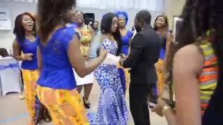 getlinkyoutube.com-Lena + Akwesi  Ghanian Traditional Wedding __Modena Italy