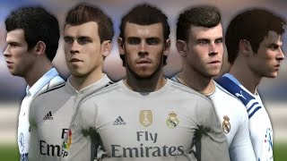 getlinkyoutube.com-Bale from FIFA 07 to 16 (Face Rotation and Stats)