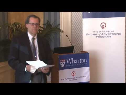 Watch @Wharton Future of #Advertising on YouTube Including @ckburgess @mnburgess
