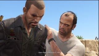 getlinkyoutube.com-GTA V: Trevor Kills Johnny Klebitz From GTA 4 Lost and Damned