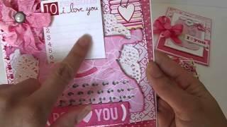 getlinkyoutube.com-Valentine's Day Cards Using Dies