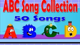 Alphabets Song Collection | 50 ABC Song Collection | Phonics Alphabets Rhymes