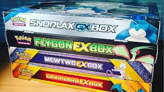getlinkyoutube.com-Pokemon Cards - 4 DIFFERENT EX COLLECTION BOXES OPENING! (16 Booster Packs!!) CRAZY PULLS OMG OMG