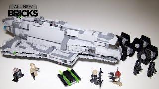 getlinkyoutube.com-Lego Star Wars Rebels 75106 Imperial Assault Carrier Speed Build