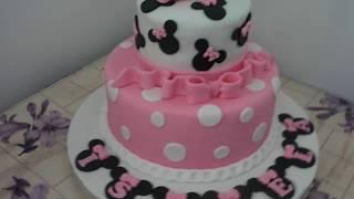 getlinkyoutube.com-Bolo minie rosa