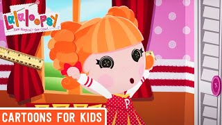 getlinkyoutube.com-Peppy Pom Poms Gets Ready to Cheer On the Day! | Lalaloopsy