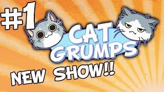 getlinkyoutube.com-Mochi's on the Prowl! - PART 1 - Cat Grumps