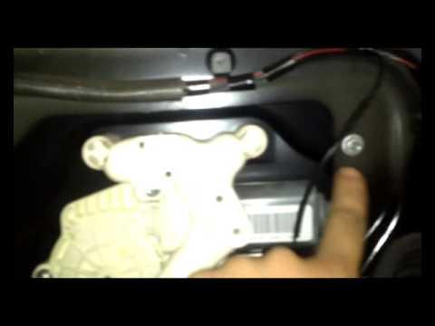 Замена замка задней двери Range Rover Sport 2010