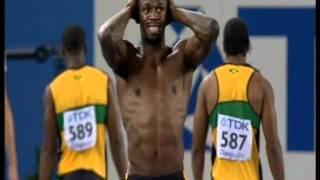getlinkyoutube.com-Bolt DQ + Tyson Gay & Michael Johnson reaction