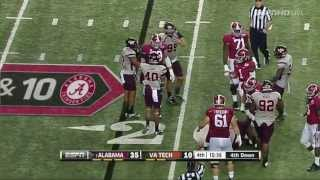 getlinkyoutube.com-Alabama Vs Virginia Tech FULL GAME HD 2013