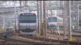 getlinkyoutube.com-相鉄11000系デビュー記念ヘッドマーク付運転 Sotetsu Series 11000 debut