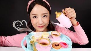 getlinkyoutube.com-디디의 커피 찻잔놀이 장난감 으로 캐리 엄마 소꿉놀이 CarrieAndToys