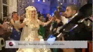 getlinkyoutube.com-Beyoğlu bir Roman düğününe sahne oldu