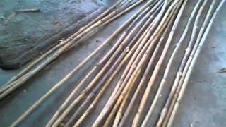 getlinkyoutube.com-River cane arrow making a-z part 1
