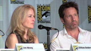 getlinkyoutube.com-The X-Files 20th anniversary reunion panel at San Diego Comic-Con 2013