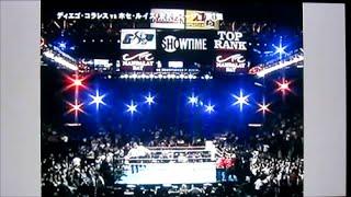 getlinkyoutube.com-ボクシング世界戦 奇跡の大逆転KO  コラレス対カスティージョ第1戦KOラウンド