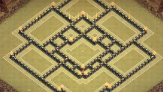getlinkyoutube.com-Clash of Clans: NEW TOWNHALL 9 Clan War Base/Push Base ll Early-January Edition 2015