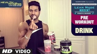 Pre Workout Drink |  LEAN MODE by Guru Mann | Health and Fitness