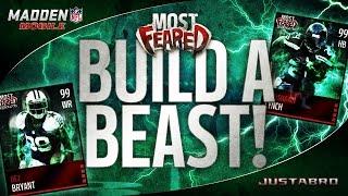 getlinkyoutube.com-BUILD A BEAST-MODE! Most Feared Madden Mobile 16