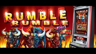 getlinkyoutube.com-Ainsworth Technology  -  Rumble Rumble :  Bonus and Line Hit on a $ 1.00 bet