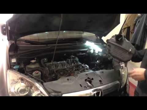 Где масляный насос в Honda ФРВ