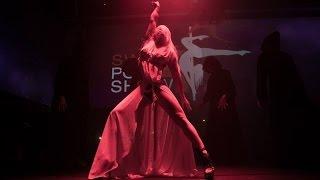 getlinkyoutube.com-Anastasia Sokolova - Pole Dance - Swiss Pole Show