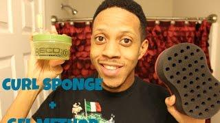 getlinkyoutube.com-How To Get Curly Hair + Gel Method & Curl Sponge