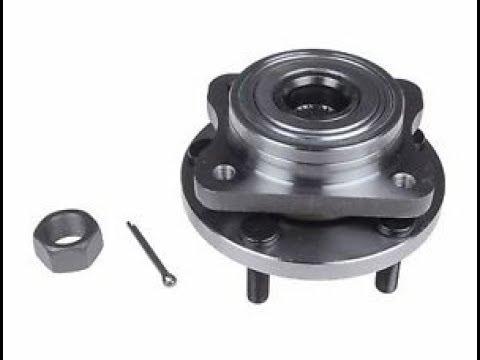 Как выбить передний подшипник ступицы Chrysler Dodge/How to knock out the front wheel bearing