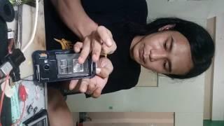 getlinkyoutube.com-Cara Bongkar Lcd Samsung J1 ace j110G hanya 9 menit..