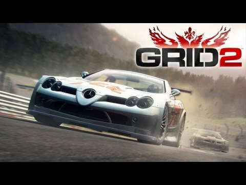 Grid 2 'McLaren SLR 722 GT PC Gameplay @ MAX Settings' [1080p] TRUE-HD QUALITY