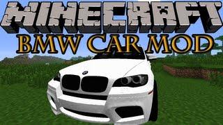 getlinkyoutube.com-Minecraft Mods - BMW CAR MOD! RIDE WITH STYLE! [1.7.2]