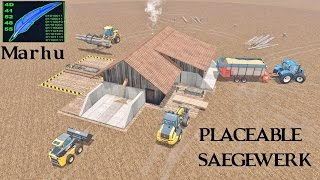 getlinkyoutube.com-Farming Simulator 15 Placeable Saegewerk by Marhu