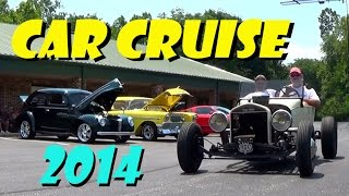 getlinkyoutube.com-Hot Rods, Muscle Cars, and Classics - Car Cruise 2014 - Passing Lane Motors