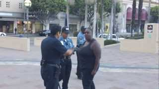 Powerful Woman Refuses to Back Down Against the Cops/L.A.P.D. - Down Street$