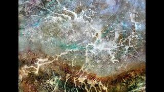 getlinkyoutube.com-Abstract landscape /  lightning, Abstrakte Landschaft /  Blitz, 1