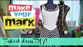 getlinkyoutube.com-How to: Make a Summer T-Shirt Dress