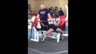 getlinkyoutube.com-Даниела Колесник - жим лежа 130,5 кг (56,3 кг)