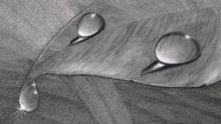 getlinkyoutube.com-How to Draw Water Drops With Charcoal