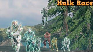 Halo 4 Custom game : Hulk Race