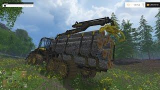 getlinkyoutube.com-Farming Simulator 15 Logging Part 3