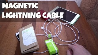 getlinkyoutube.com-Magnetic charger X-Cable from WSKEN