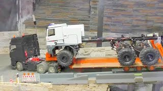 getlinkyoutube.com-RC HEAVY TRANSPORT, THE BIGGEST RC FIRE TRUCK IN THE WORLD, THE BUFFALO