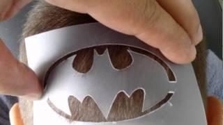 Desenhos no cabelo, Batman