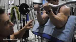 Fernando Sardinha   treino para bíceps parte 3