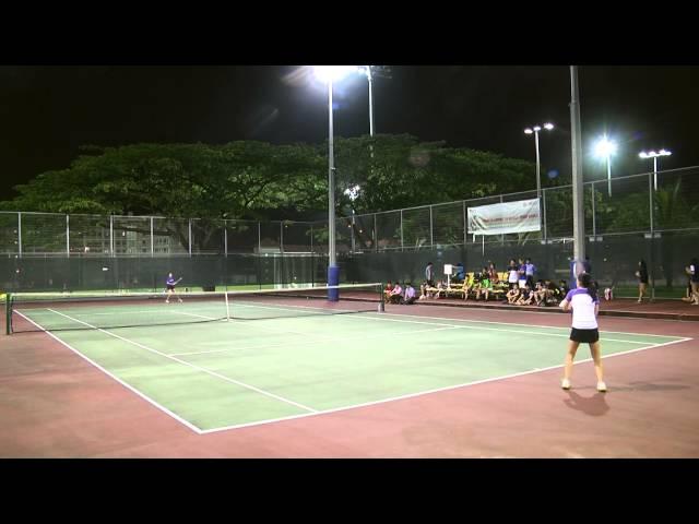 International Tertiary Tennis Series 2015 Women\'s Final