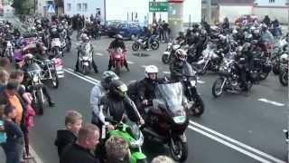 getlinkyoutube.com-PARADA 10 Zlotu Motocyklowego Stradunia 2012