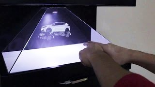 getlinkyoutube.com-How to make 3D BIG Hologram  for 1 day